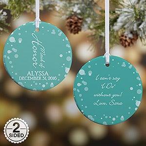Personalized Wedding Ornament - Bridal Brigade - 16332