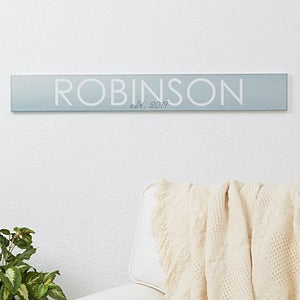 Personalized Wooden Sign - Family Name - 16347