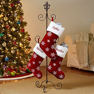 Christmas Stocking Tree Holder