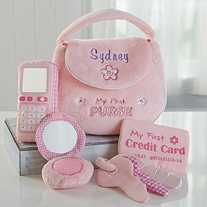 Personalized Girls First Toy Purse - Gund (16372) photo