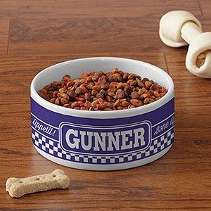 Personalized Pet Bowls - Pet Puns - 16403