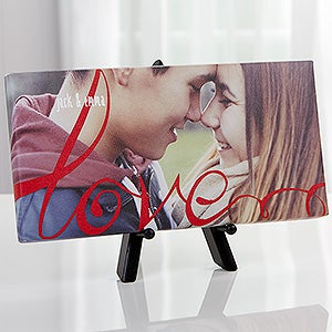 Personalized Mini Photo Canvas Print - Love Always - 16432
