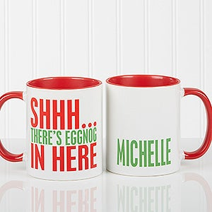 Personalized Holiday Coffee Mugs - Funny Christmas Quotes - 16450