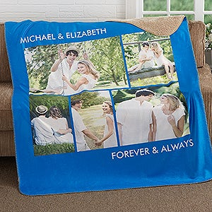 Personalized Photo Premium Sherpa Blanket - Picture Perfect - 16487