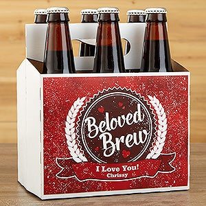 Personalized Beer Bottle Labels for Valentine's Day - 16507