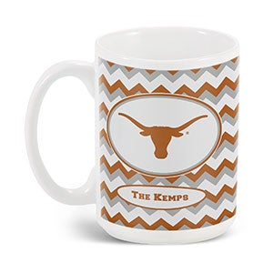 Personalized Collegiate Pride Sports Tailgating Collection - Chevron - 16522D