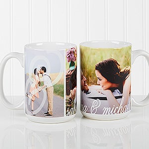 Personalized Couples Photo Coffee Mugs - You & I - 16547