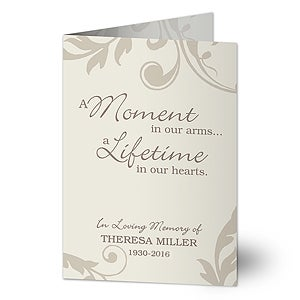 Personalized Sympathy Cards - In Loving Memory - 16564