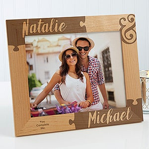 Personalized Romantic Picture Frames - Missing Piece To My Heart - 16577