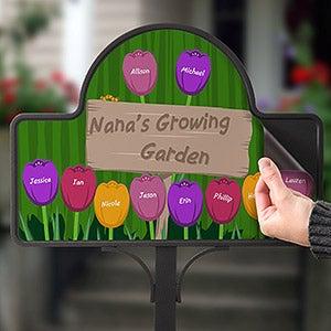 Personalized Garden Stake - Grandma's Garden - 16582