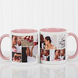 Custom Photo Collage Coffee Mugs - 16584