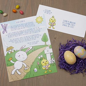 Personalized Official Easter Bunny Letter - 16605