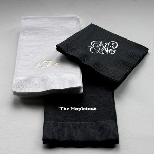 Custom Napkins and Guest Towel Set - Hostess Collection - 1663D