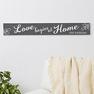 Personalized Wood Home Signs - Family Home Quotes - 16645