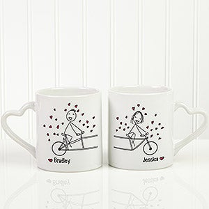 Personalized Couples Coffee Mug Set - So Happy Together  - 16701