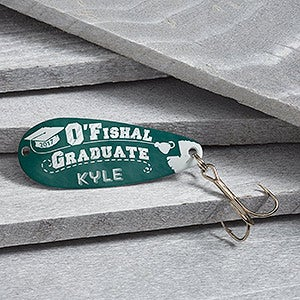 Personalized Graduation Fishing Lure - O'Fishal Graduate - 16721