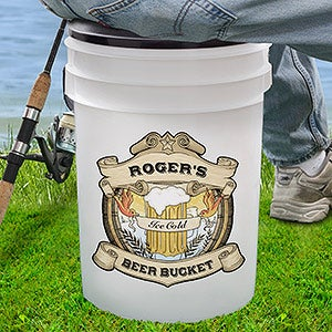 Personalized Beer Bucket Cooler - 16746