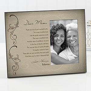 Personalized Mother Picture Frames - Dear Mom - 16752