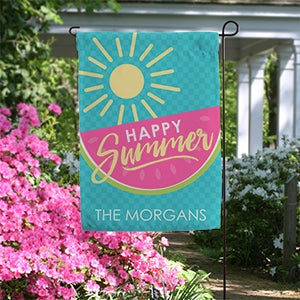 Personalized Summer Garden Flag - Simply Summer - 16753
