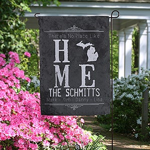 Personalized Garden Flags By Simply Sublime Ikat Garden