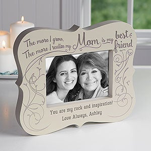 Personalized 5x7 Picture Frame Block Best Friend Mom