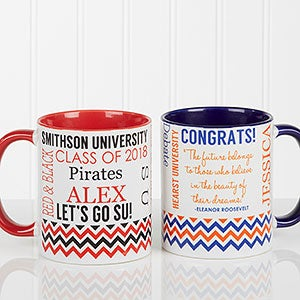 Personalized Graduation Coffee Mug - School Memories - 16775