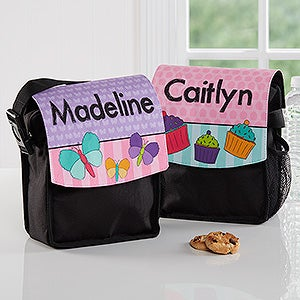 Personalized Girls Lunch Tote - Just For Her - 16785
