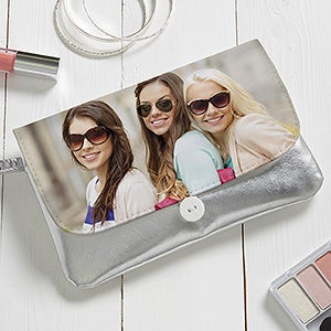 Personalized Metallic Wristlet - Precious Photo - 16787