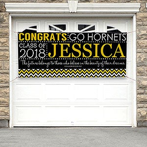Personalized Graduation Banner - School Memories - 16792