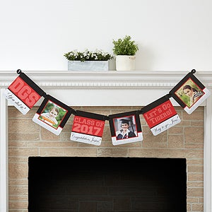 Personalized Photo Graduation Banner - Class Of - 16796