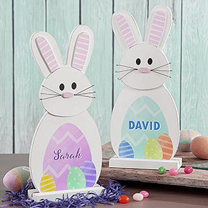 Personalized Easter Bunny Wood Decor - My Easter Bunny - 16805