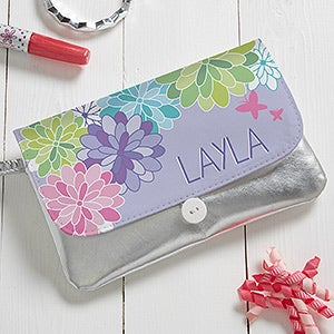 Personalized Wristlet - Precious Flower - 16813