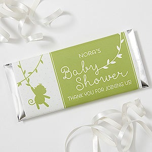 Personalized Baby Shower Candy Bar Wrappers - Baby Zoo Animals - 16819