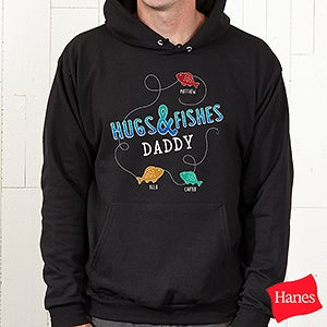 Personalized Fishing Apparel - Hugs & Fishes - 16862
