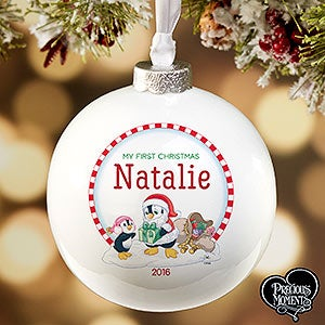 Personalized Precious Moments My First Christmas Ornament - 16933