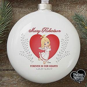 Personalized Precious Moments Memorial Ornament - 16936