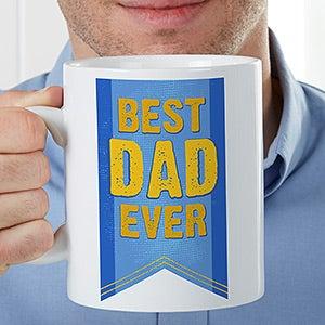Personalized Oversized Coffee Mug - Award Winning Dad - 16948