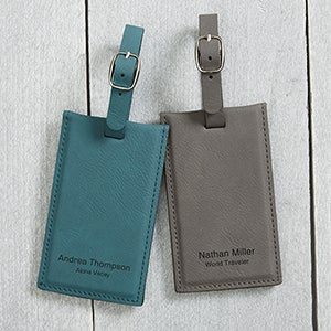 Personalized Signature Series Bag Tags - 16955