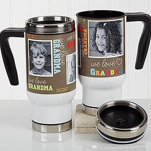 Personalized Commuter Travel Mug - Loving You - 16978