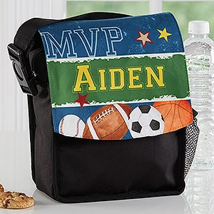 Personalized Lunch Bag - Ready, Set, Score - 16986