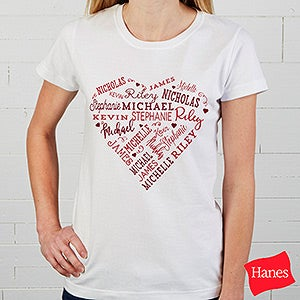 Personalized Apparel - Close To Her Heart - 17080