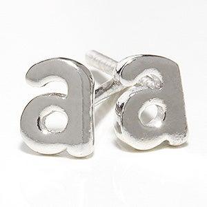Initial Personalized Stud Earrings - 17116D