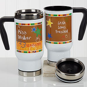 Personalized Commuter Travel Mug - Preschool/Daycare - 17128