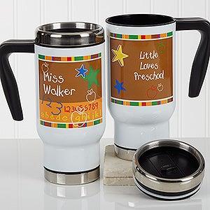 Personalized Commuter Travel Mug - Preschool/Daycare - 17128