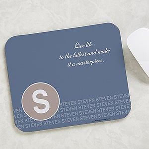 Personalized Mouse Pad - Quotes Of Sophistication - 17158