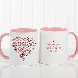 Personalized Coffee Mug - Close To Her Heart - 17195