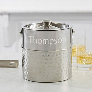 Hampton Collection Personalized Ice Bucket - 17227