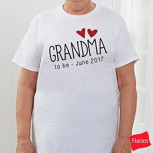 Personalized Grandma Apparel - Grandma Established - 17305