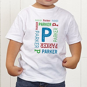 Personalized Kids Apparel - Repeating Name - 17315