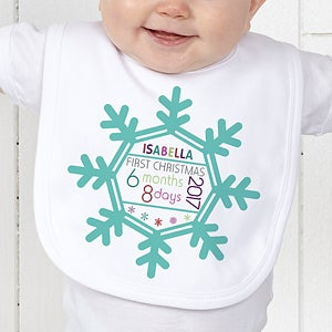 Personalized Baby's First Christmas Outfit  - 17318